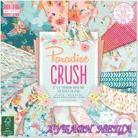 "Дизайнерско блокче 8 x 8"" Paradise Crush 48 листа"