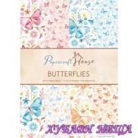 Дизайнерско блокче A4-Butterflies 40 листа