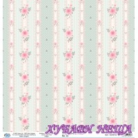 Дизайнерски картон 30x30cm 190gr - Shabby Chic Collection 03