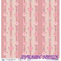 Дизайнерски картон 30x30cm 190gr - Shabby Chic Collection 08