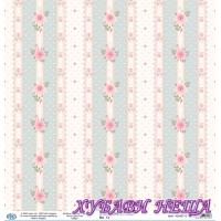Дизайнерски картон 30x30cm 190gr - Shabby Chic Collection 13