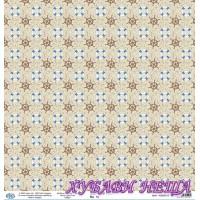 Дизайнерски картон 30x30cm 190gr - Sea Travel Time 10