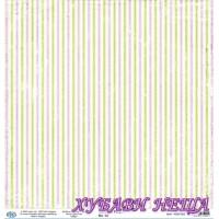 Дизайнерски картон 30x30cm 190gr - Romantic Purple 02