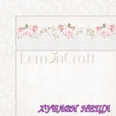 Дизайнерски картон лист 30.5x30.5cm Елегантност 02 двустр.