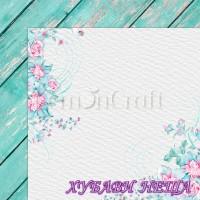 Дизайнерски картон лист 30.5x30.5cm Selence 01 двустр.