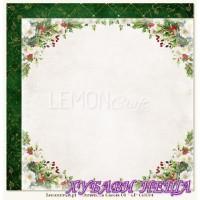 Дизайнерски картон 30.5x30.5cm Christmas Carols 04