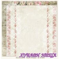 Дизайнерски картон 30.5x30.5cm Houses Of Roses 06