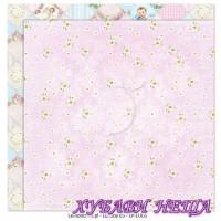 Дизайнерски картон лист 30.5x30.5cm Lullaby 05 двустр.