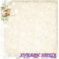 Дизайнерски картон 30.5x30.5cm 180гр/м2 - Winter Music