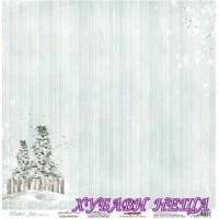 Дизайнерски картон 30.5x30.5cm 180гр/м2 - Sprinkle of Snow