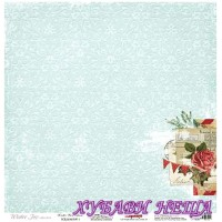Дизайнерски картон 30.5x30.5cm 180гр/м2 - Winter Wonderland