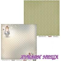Дизайнерски картон 30.5x30.5cm Welcome Winter двустранен