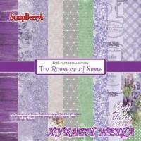 "Дизайнерско блокче 6x6""- The Romance of Xmas"