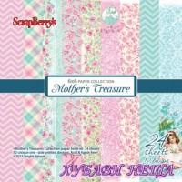 "Дизайнерско блокче 6x6""- Mothers Treasure"