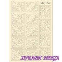 Сет727 К-т елементи от бирен картон- Ъгли