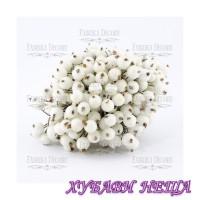 Fabrika Decoru FD19 - Sugar Berries White 40бр