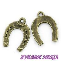 Метален орнамент ''Подкова''-060