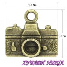 Метален орнамент ''Фотоапарат'' Античен бронз 5бр.