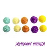 Цветя от резин Ф15xH6мм.- 10бр.