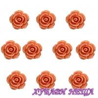 Рози от резин Ф10xH6мм.- 10бр.