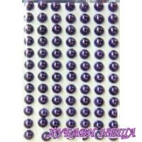 Самозалепващи перли- Виолетови