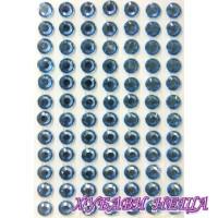 Самозалепващи камъчета- Сини