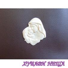 Пластични елементи Богородица 2- 5,5 x 6,5 см 1бр