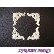 Пластични елементи Ъгълчета 2- 5 x 2,8см К-кт 4бр