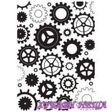 Папка за релеф 13x18см - Cogwheels