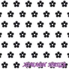 Папка за релеф 150x150 mm Background Flowers