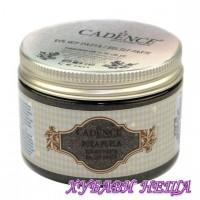 Перлена релефна паста - Black 150ml