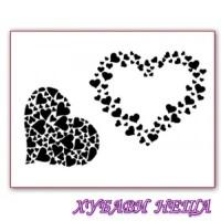 Печат- Сърца