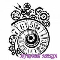 Шаблон за релеф  20 x 25 cm- Clock and mechanisms