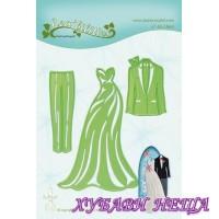 Шаблон за изрязване и релеф - Dress & Suit
