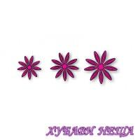 Шаблон за изрязване и релеф- BG024 Цветя