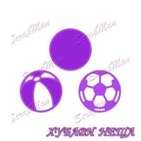 Шаблон за изрязване и релеф- DR-70 Ball