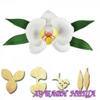 Шаблон за изрязване и релеф- S2-162 Орхидея
