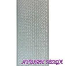 Самозалепващи стикери- Сребристи 1062