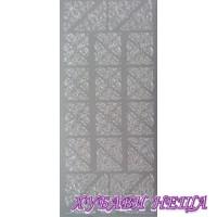 Самозалепващи стикери- Сребристи ъгли 1018