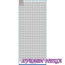 Самозалепващи стикери- Сребрист 1138