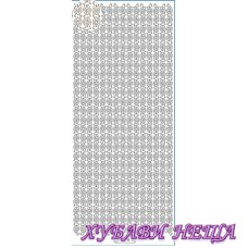 Самозалепващи стикери- Бял 1138