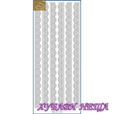 Самозалепващи стикери- Златист 1277
