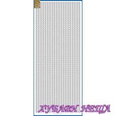 Самозалепващи стикери- Златист 847