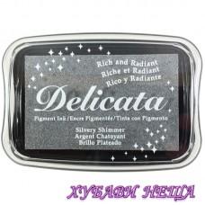 Delicata Тампон за печат - Silvery Shimmer
