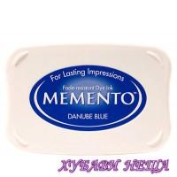 Memento Тампон за печат - Danube Blue
