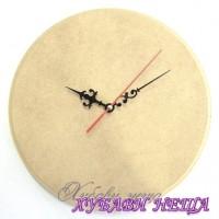 Часовник от MDF 6мм с плавен механизъм- Ф 20см