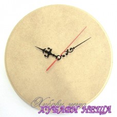 Часовник от MDF 6мм. с плавен механизъм- Ф 25см