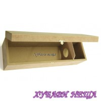 Кутия за вино от MDF Д37 Ш11 В12