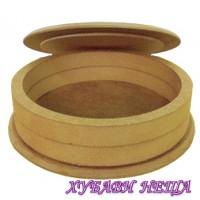 Кутия-кръгла от MDF Ф15см. В3.6см