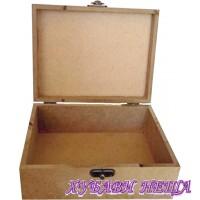 Кутия от MDF 6мм- 18x14x7см